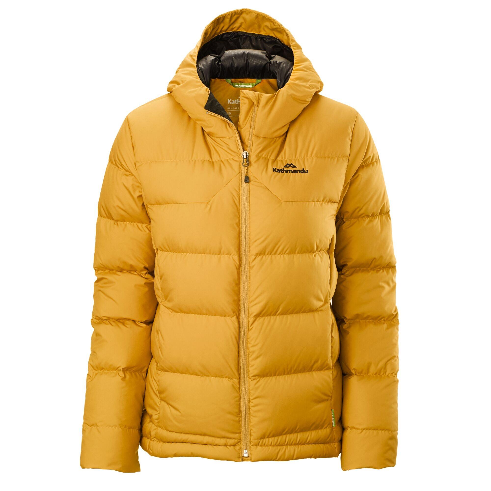 thumbnail 48 - NEW Kathmandu Epiq Womens Hooded Down Puffer 600 Fill Warm Outdoor Winter Jacket