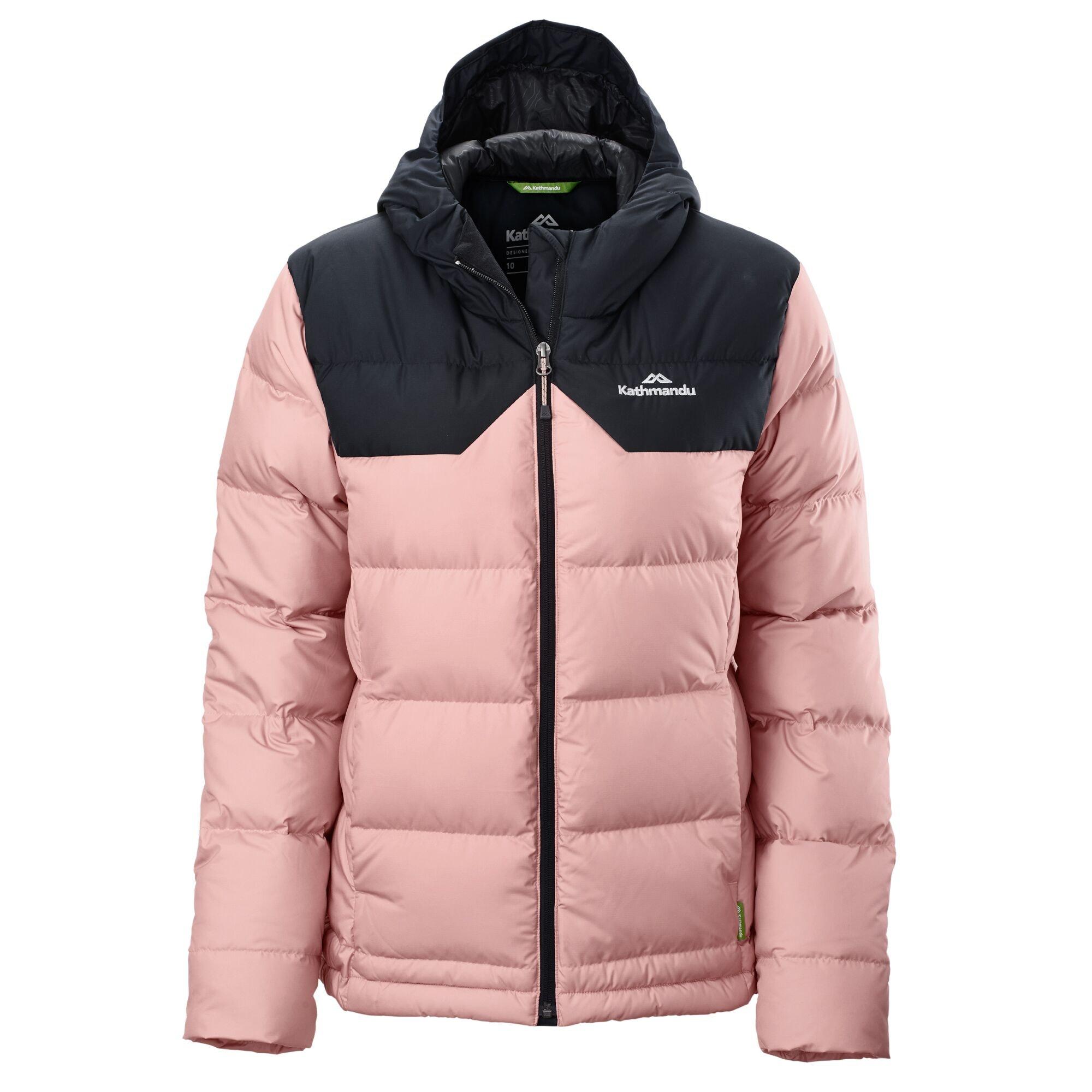 thumbnail 23 - NEW Kathmandu Epiq Womens Hooded Down Puffer 600 Fill Warm Outdoor Winter Jacket