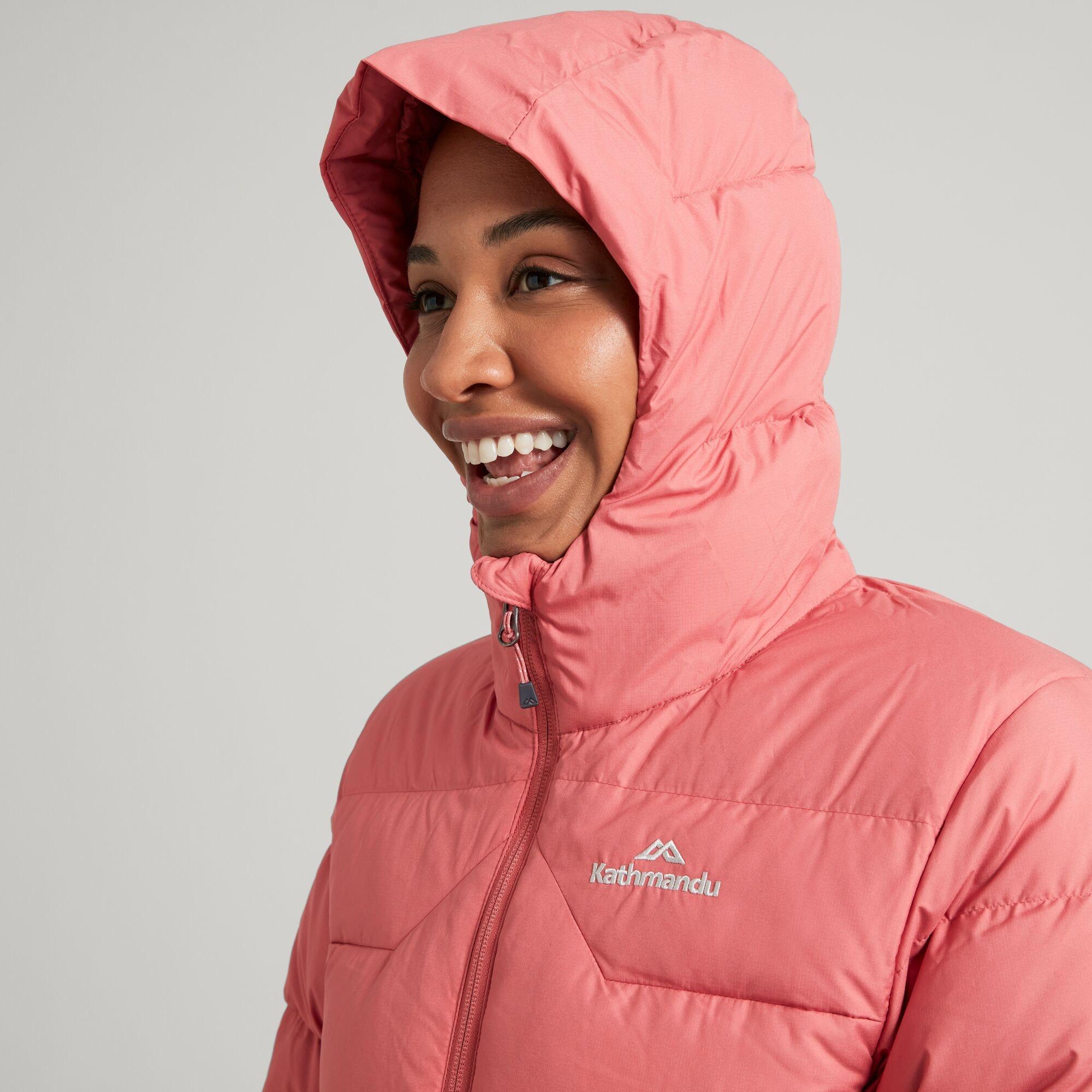 thumbnail 30 - NEW Kathmandu Epiq Womens Hooded Down Puffer 600 Fill Warm Outdoor Winter Jacket