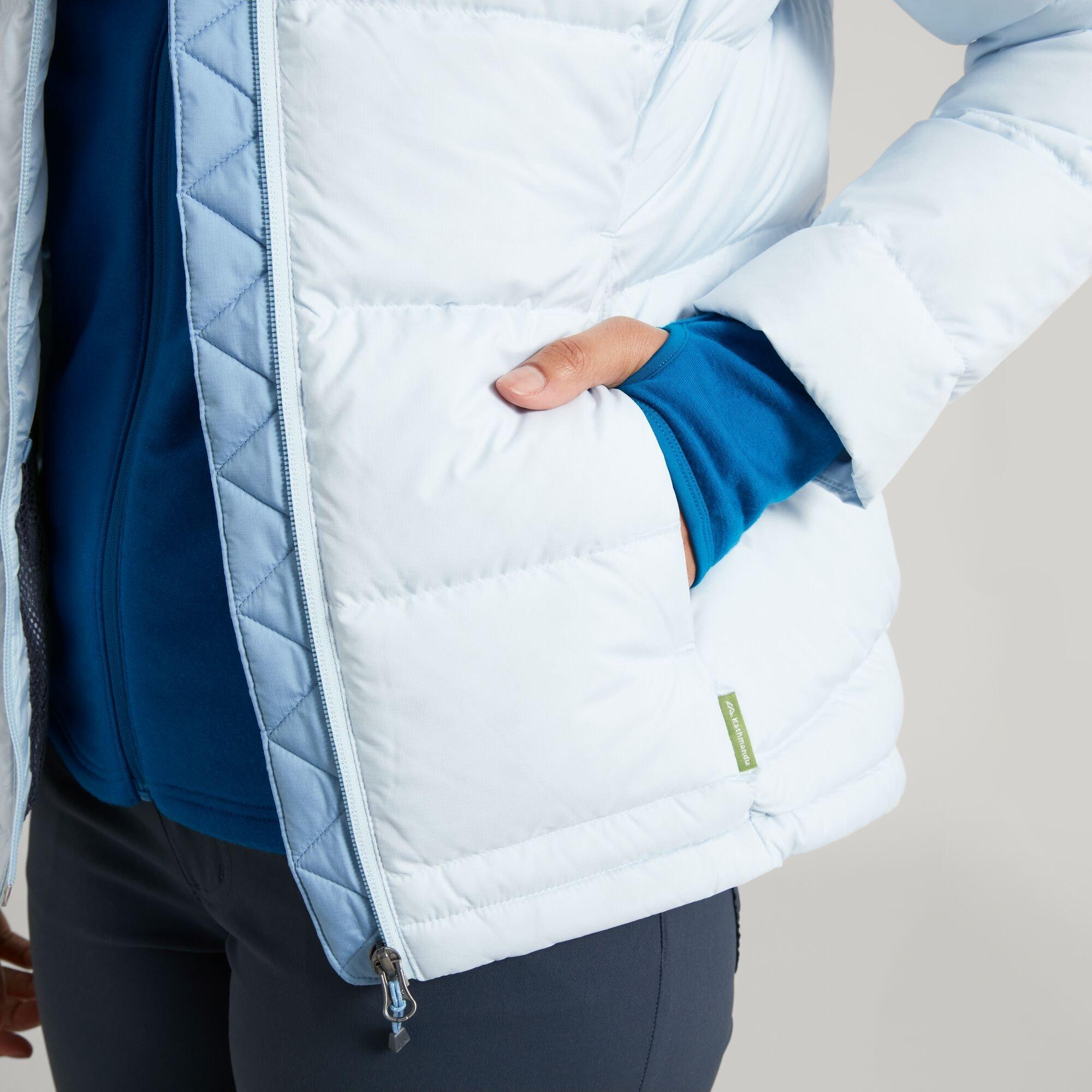 thumbnail 21 - NEW Kathmandu Epiq Womens Hooded Down Puffer 600 Fill Warm Outdoor Winter Jacket