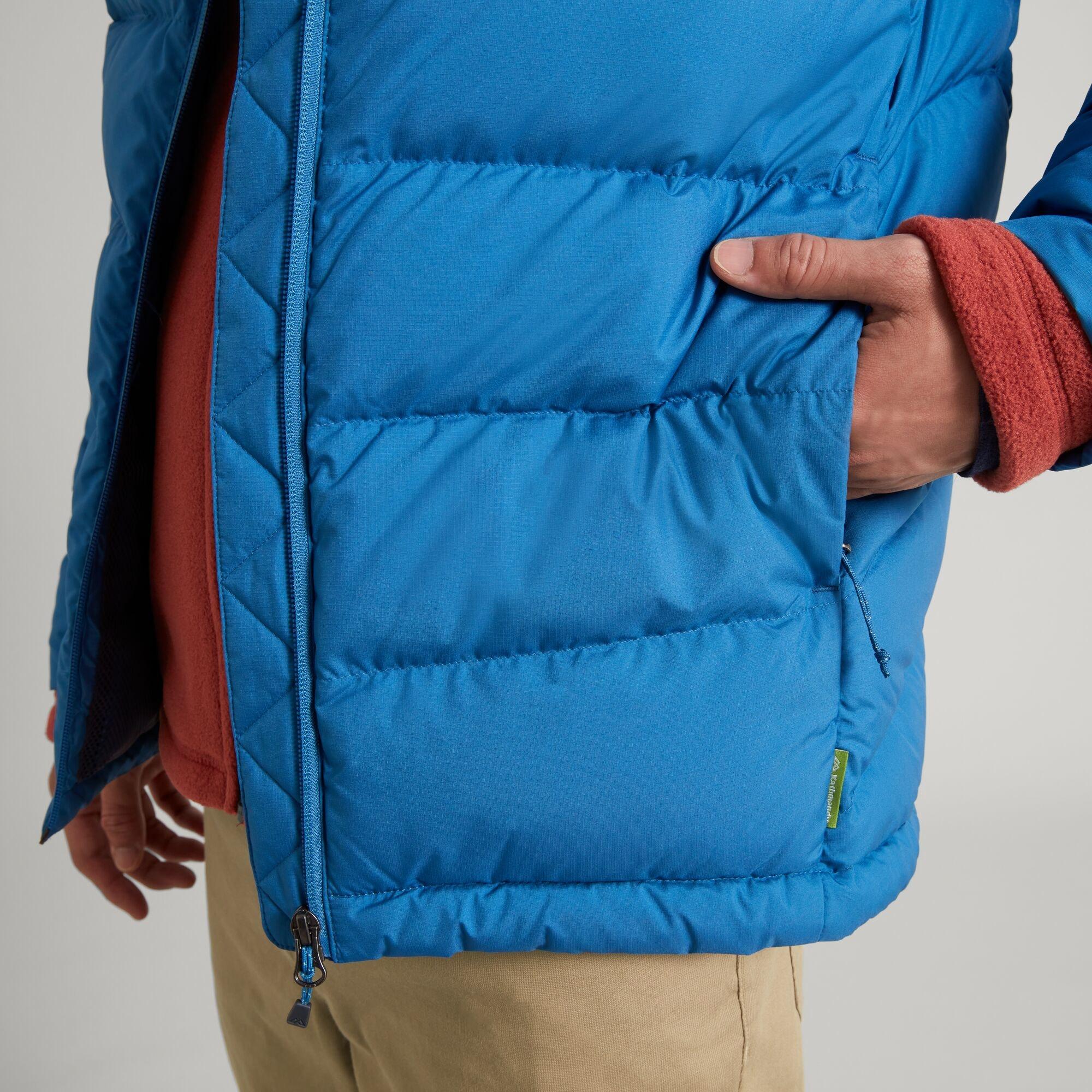 thumbnail 24 - NEW Kathmandu Epiq Mens 600 Fill Down Puffer Warm Outdoor Winter Jacket