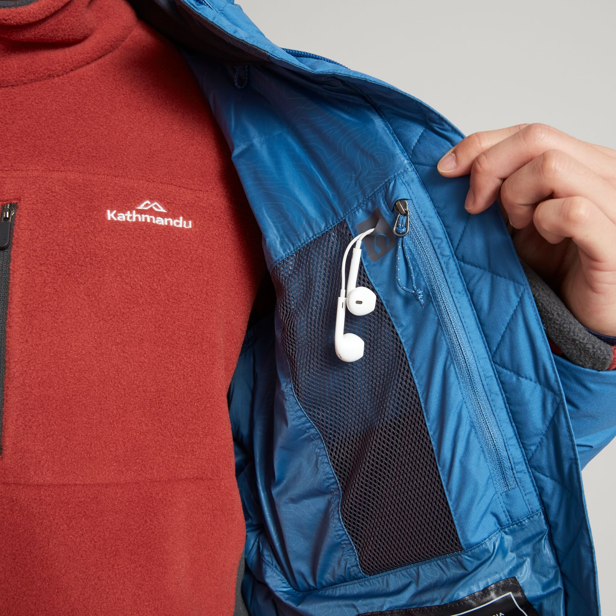 thumbnail 26 - NEW Kathmandu Epiq Mens 600 Fill Down Puffer Warm Outdoor Winter Jacket