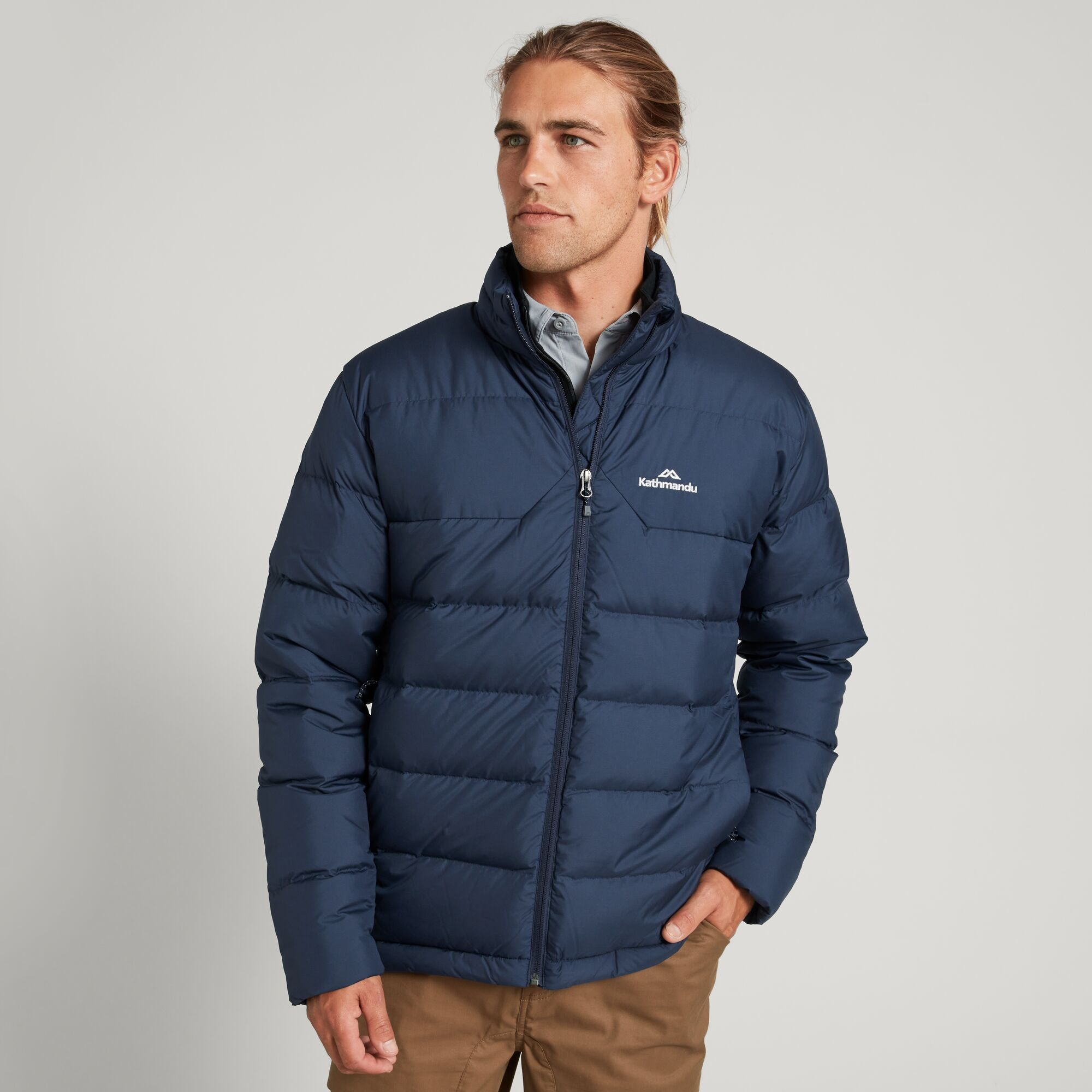thumbnail 18 - NEW Kathmandu Epiq Mens 600 Fill Down Puffer Warm Outdoor Winter Jacket
