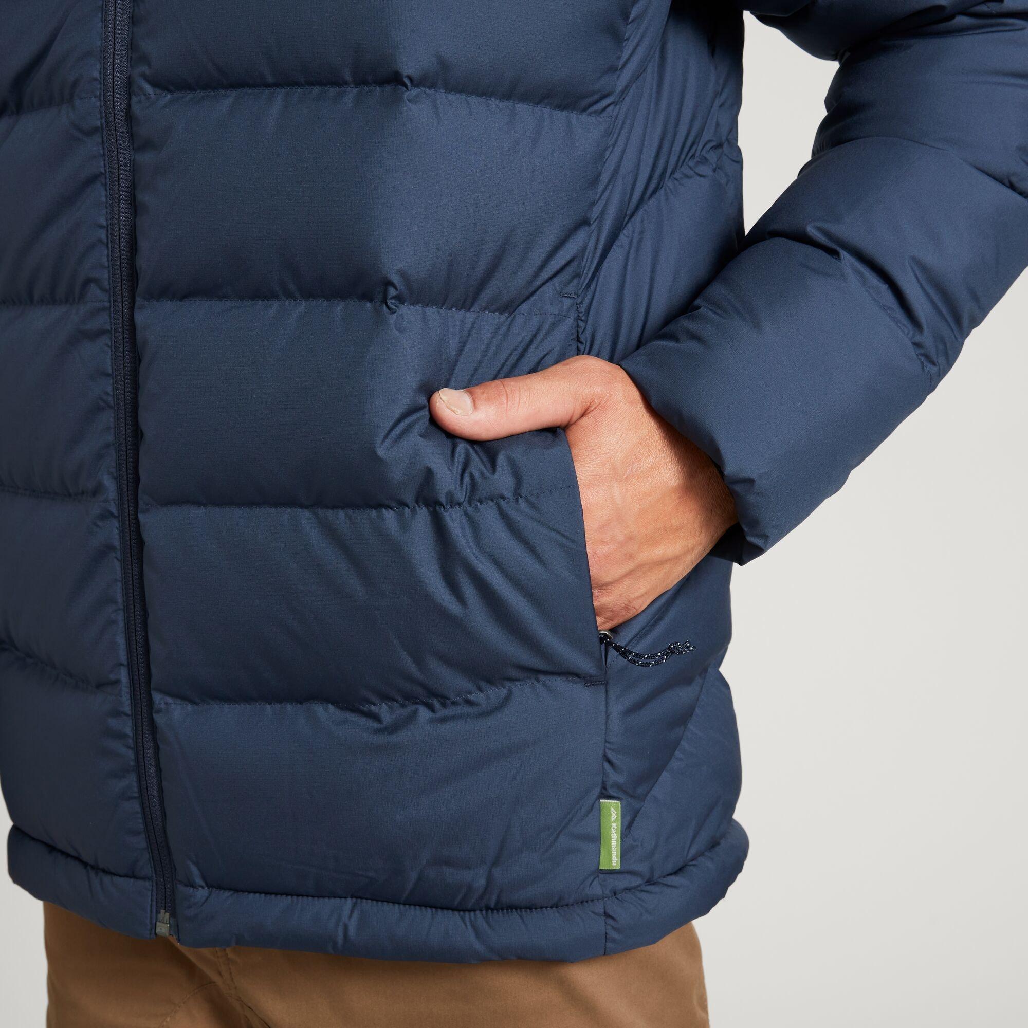 thumbnail 20 - NEW Kathmandu Epiq Mens 600 Fill Down Puffer Warm Outdoor Winter Jacket
