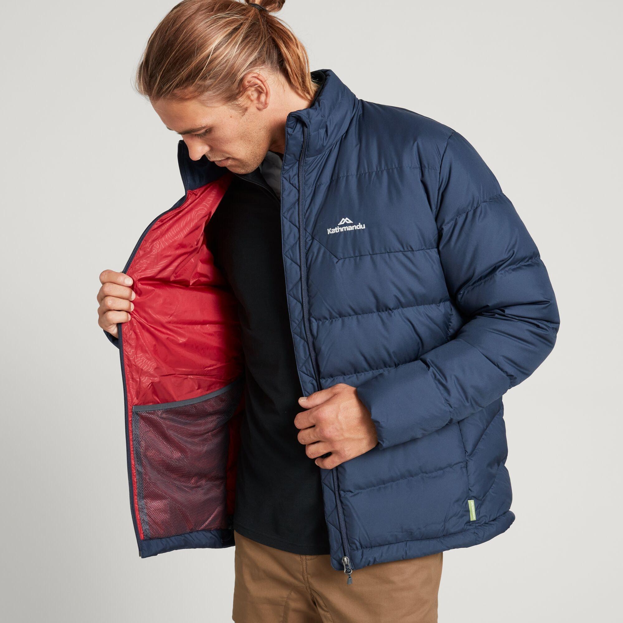 thumbnail 21 - NEW Kathmandu Epiq Mens 600 Fill Down Puffer Warm Outdoor Winter Jacket