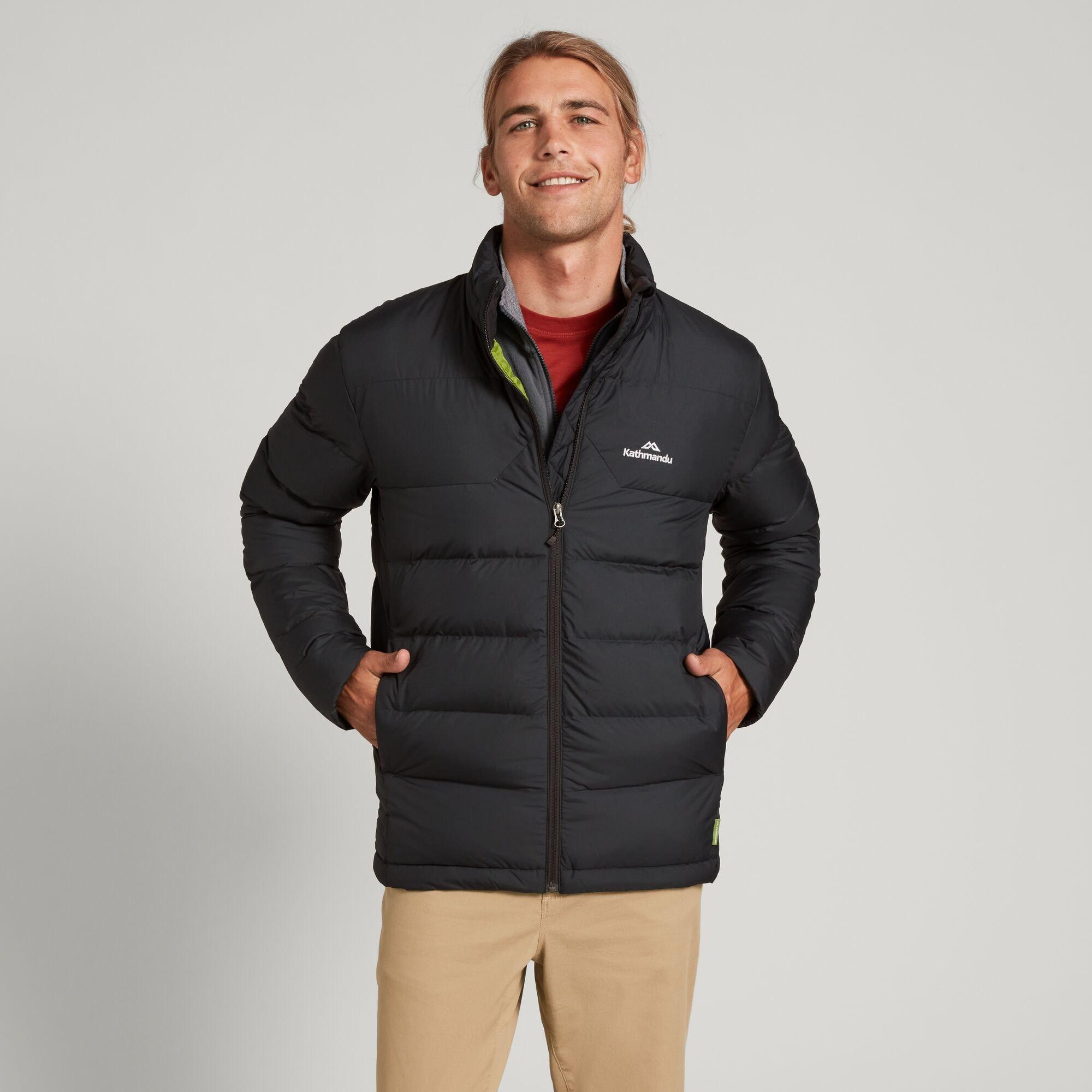 thumbnail 13 - NEW Kathmandu Epiq Mens 600 Fill Down Puffer Warm Outdoor Winter Jacket