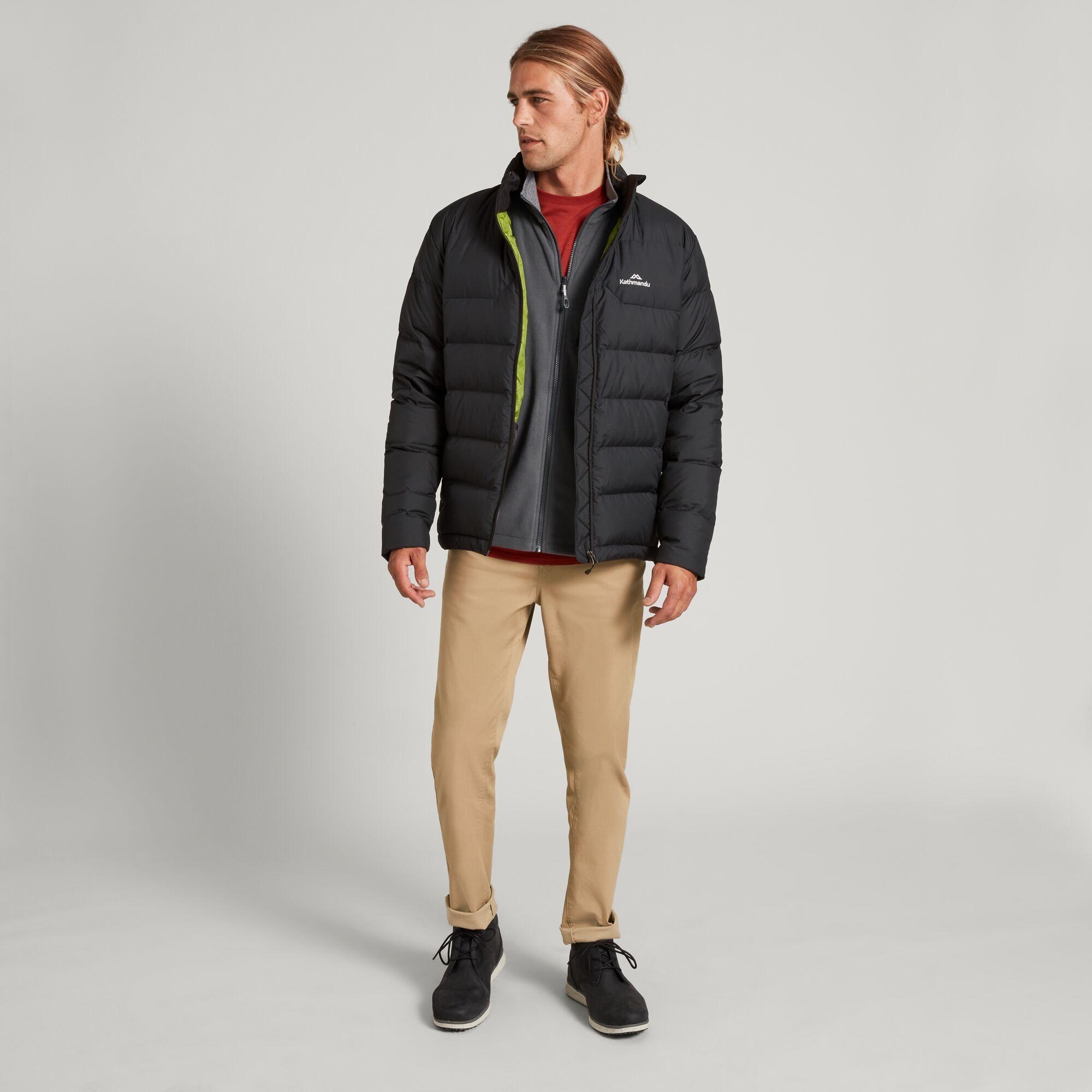 thumbnail 14 - NEW Kathmandu Epiq Mens 600 Fill Down Puffer Warm Outdoor Winter Jacket