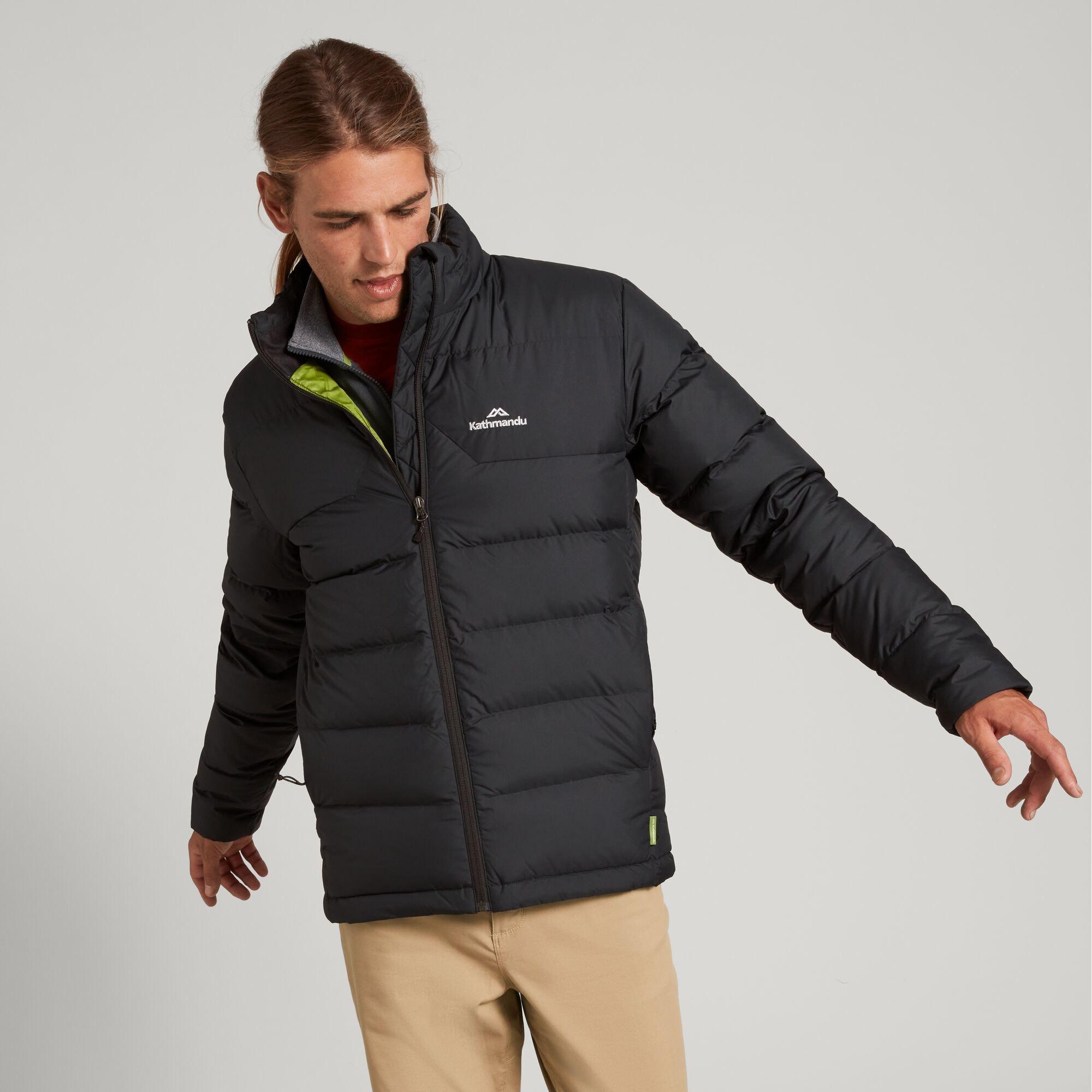 thumbnail 15 - NEW Kathmandu Epiq Mens 600 Fill Down Puffer Warm Outdoor Winter Jacket