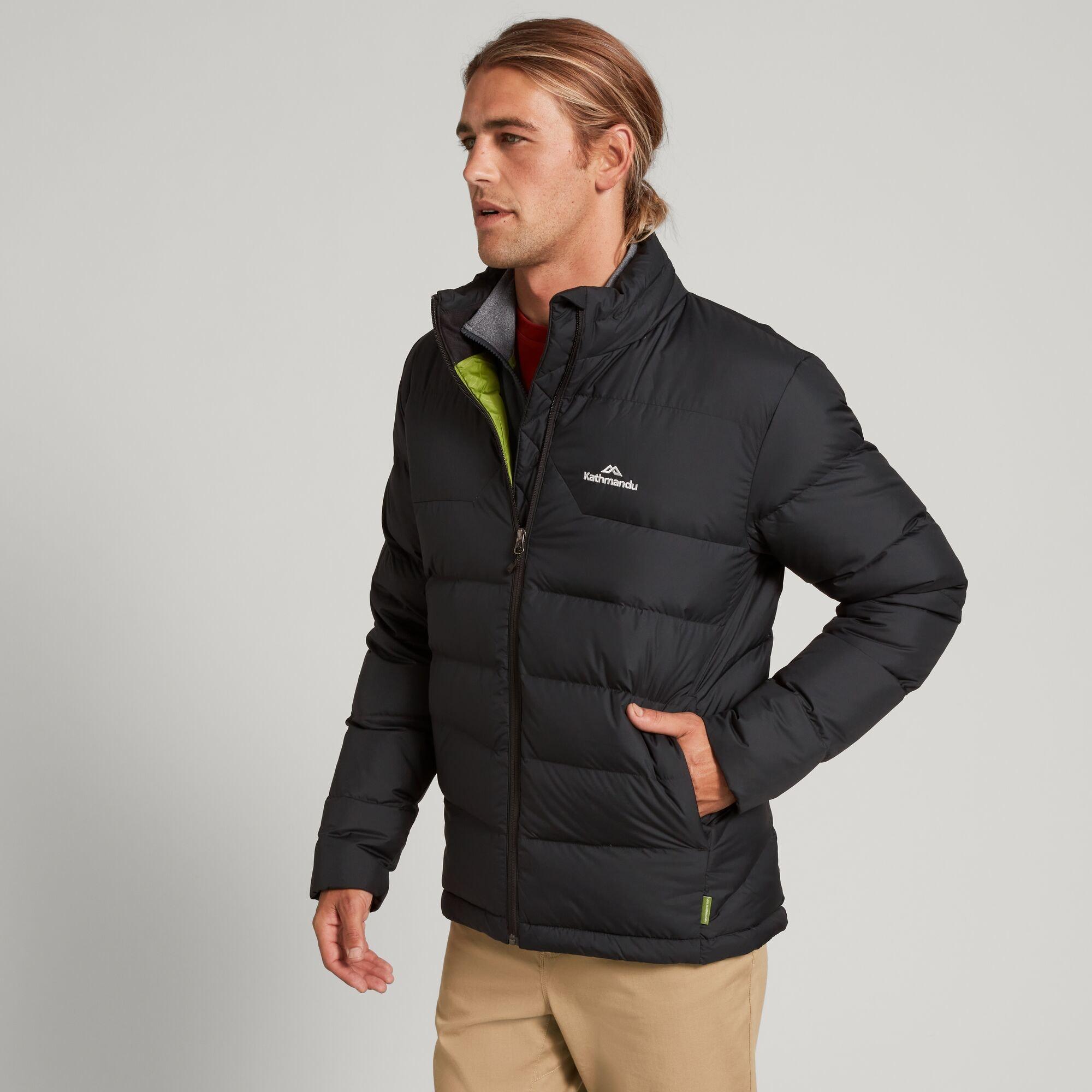 thumbnail 16 - NEW Kathmandu Epiq Mens 600 Fill Down Puffer Warm Outdoor Winter Jacket