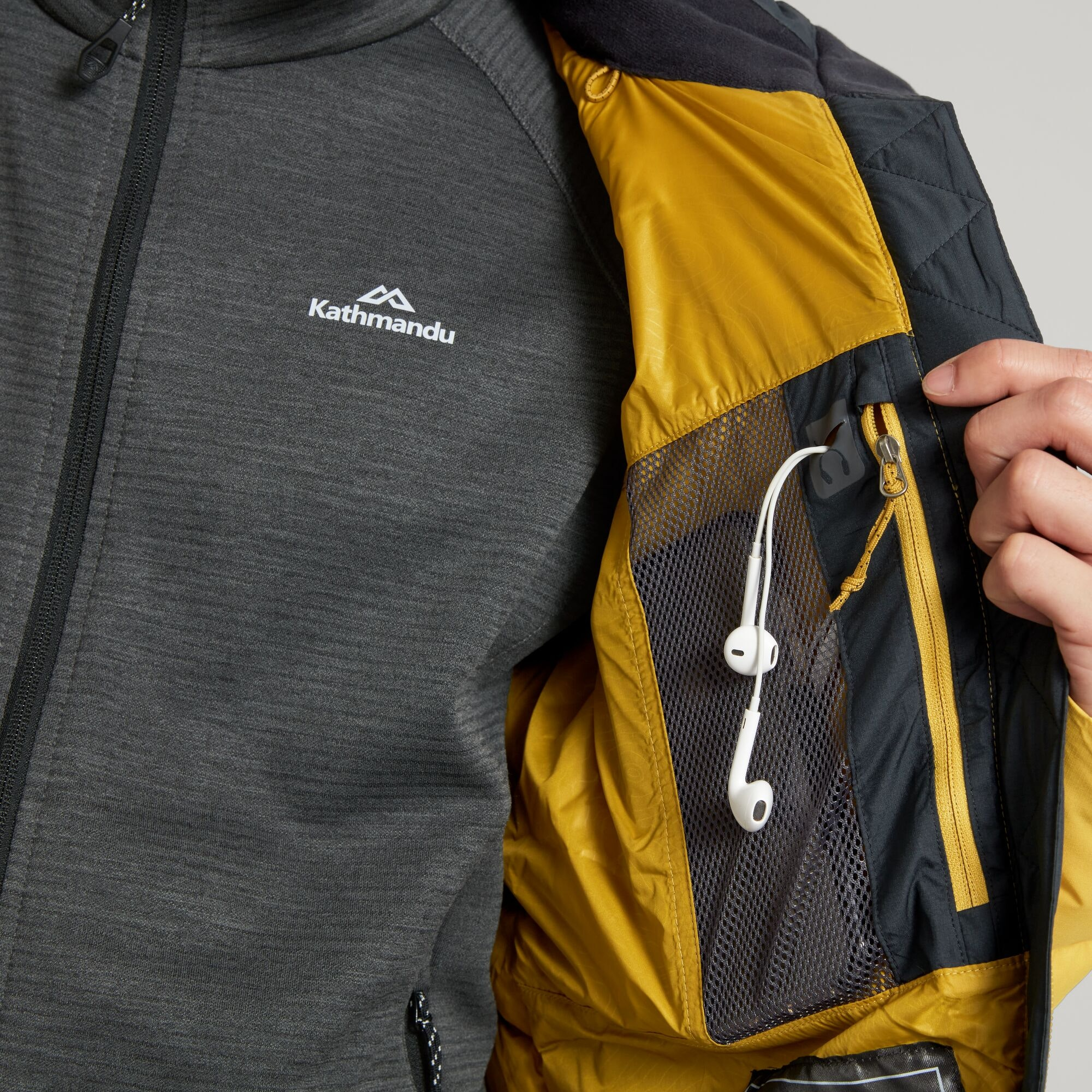 thumbnail 11 - NEW Kathmandu Epiq Mens 600 Fill Down Puffer Warm Outdoor Winter Jacket
