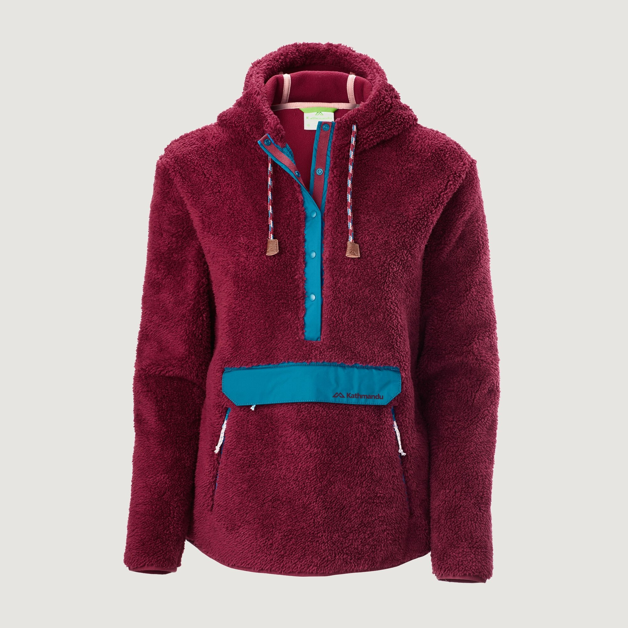 SIZE LARGE Details about  /LADIES FLEECE PULL OVER