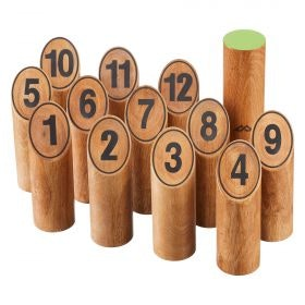 Wooden Throw the Pin Game