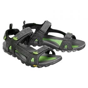 Buy Van Dozen Men's Travel Sandals - Black Sea/Green online at Kathmandu