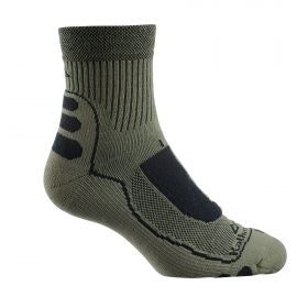 NuYarn Ergonomic Quarter Crew Hiking Socks