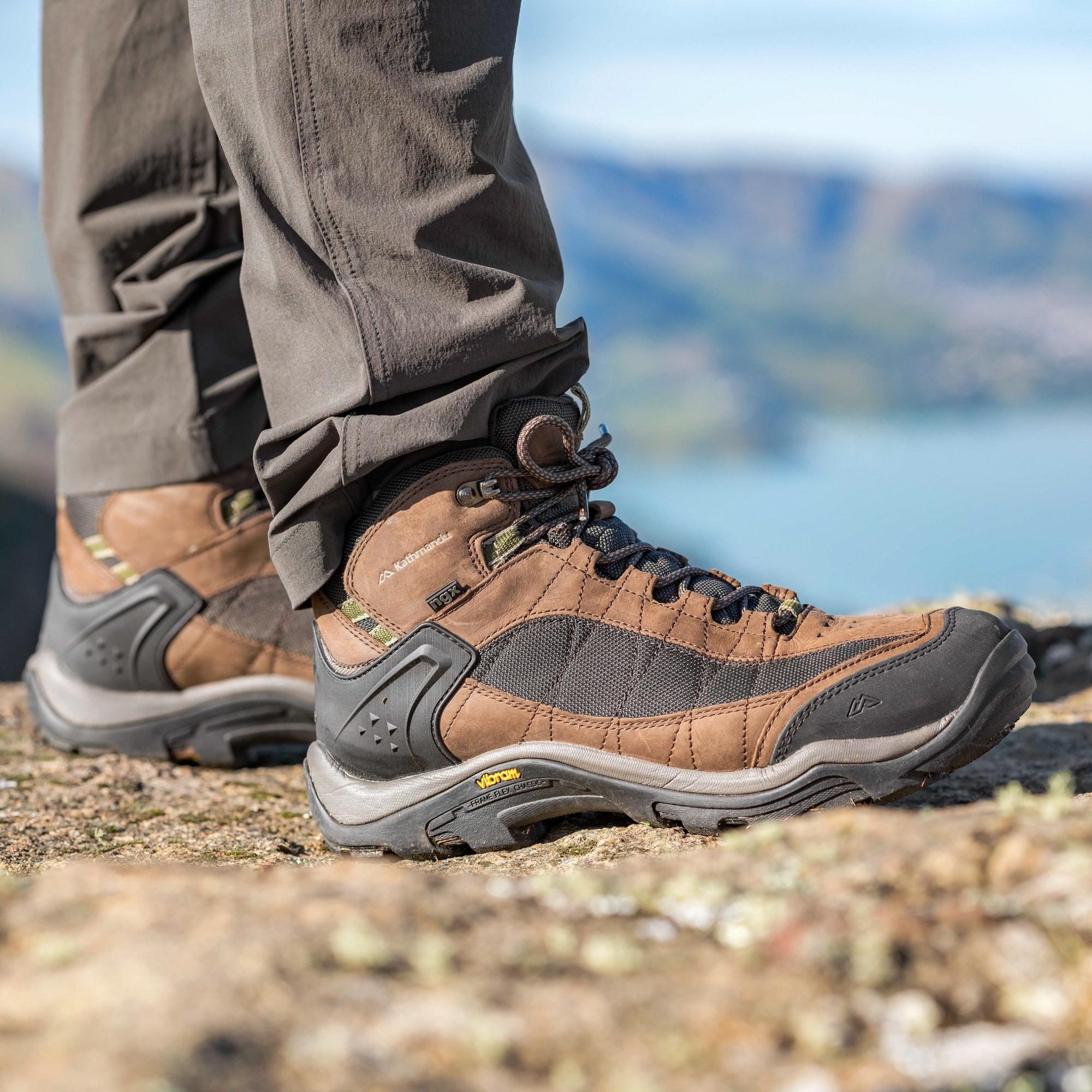 NEW-Kathmandu-Mornington-Mens-Vibram-Rubber-Waterproof-Lightweight-Hiking-Boots thumbnail 8