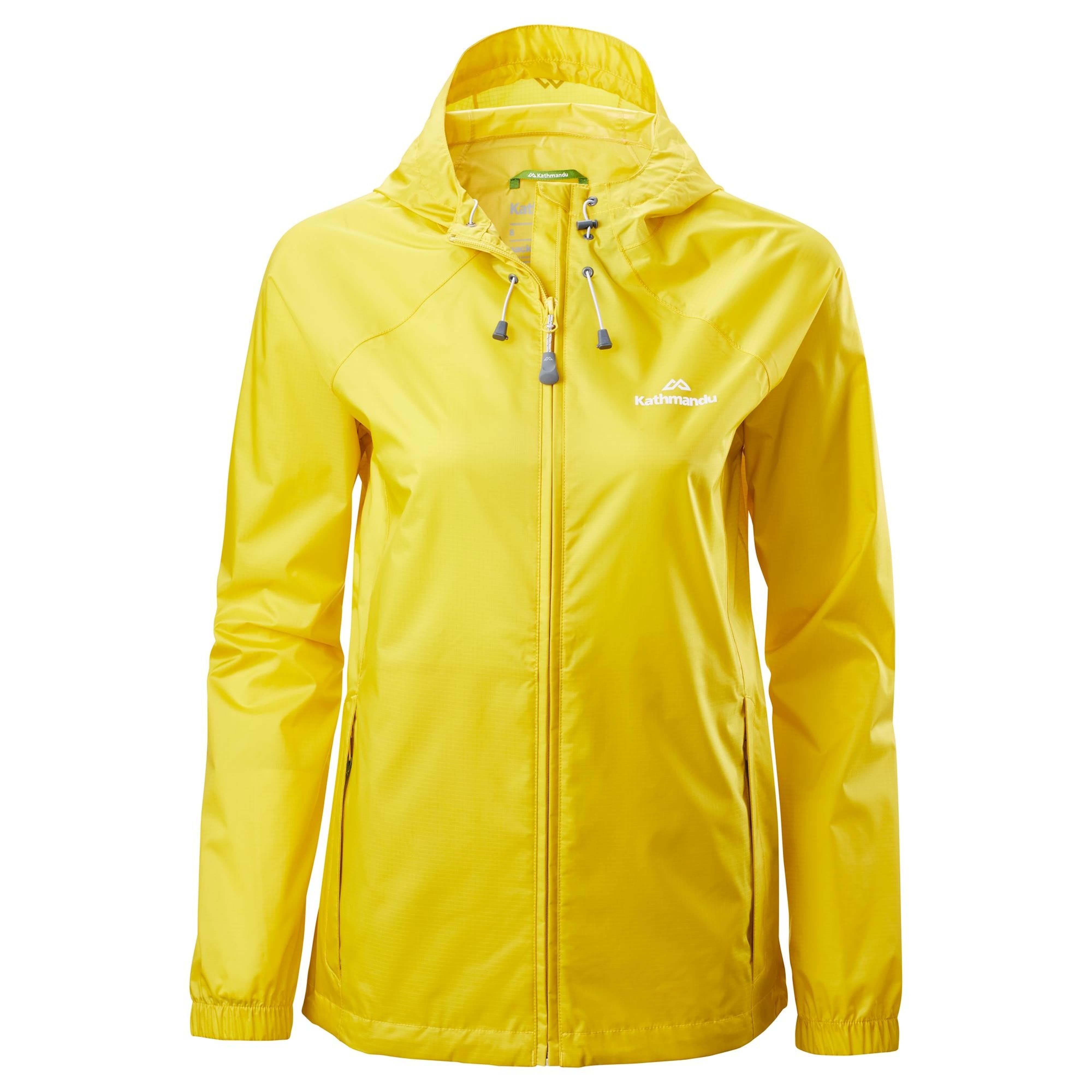 4a8c4fca9 Pocket-it Women's Rain Jacket v3 - Salsa