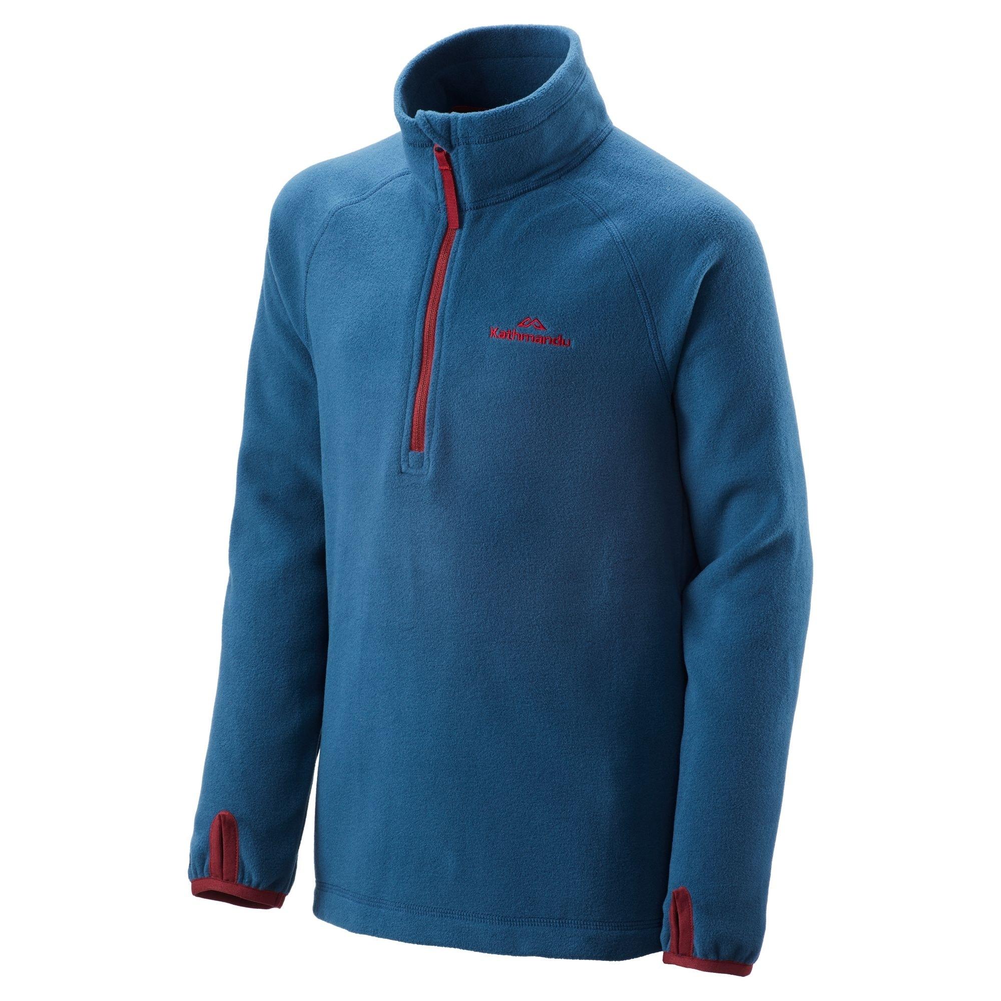 NEW-Kathmandu-Ridge-Kids-039-Girls-039-Boys-039-Warm-Fleece-Jacket-1-4-Zip-Pullover-Top thumbnail 22