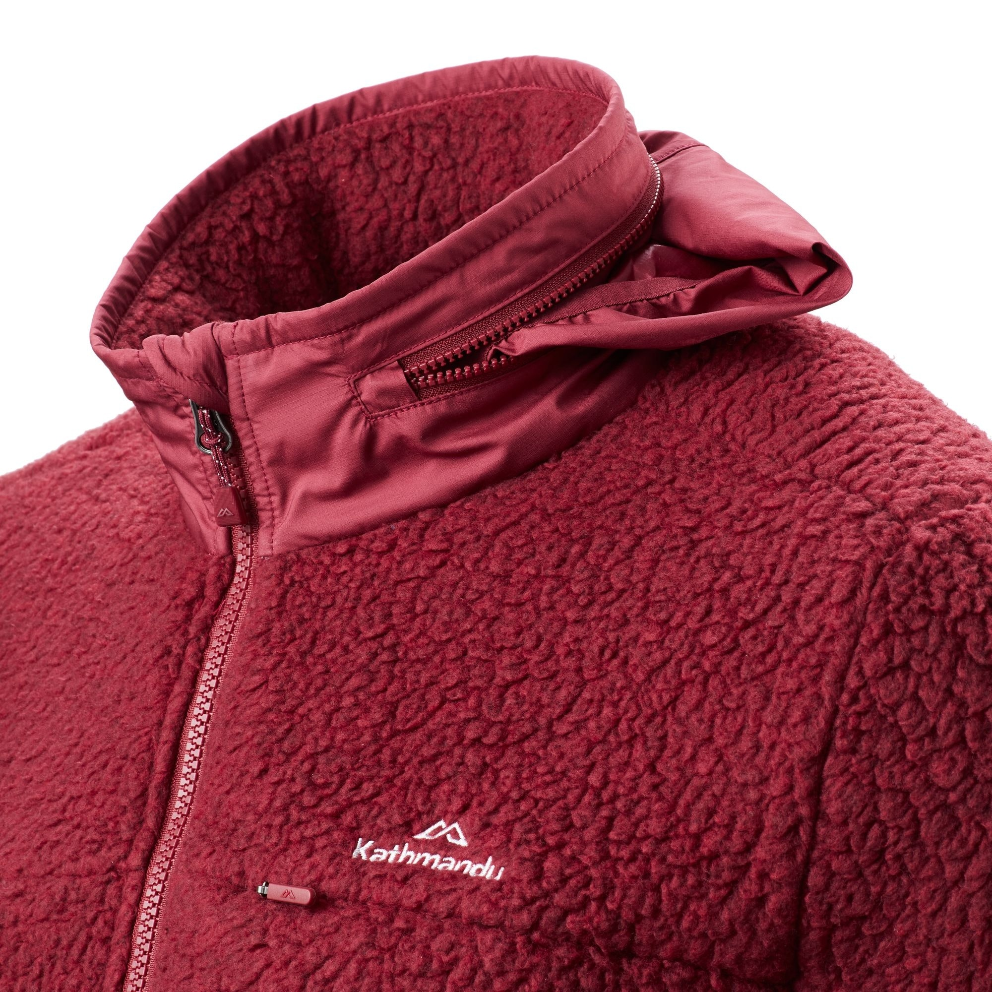 NEW-Kathmandu-Baffin-Island-Men-039-s-Full-Zip-Hooded-Warm-Outdoor-Fleece-Jacket thumbnail 19