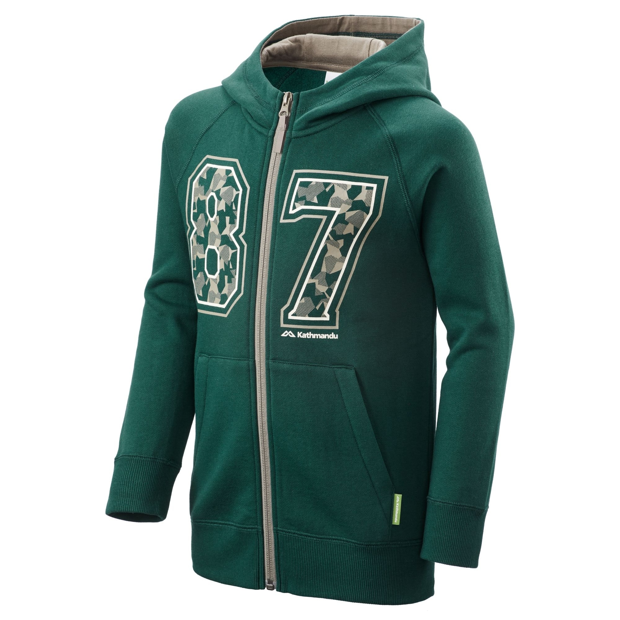 NEW-Kathmandu-Youth-Boy-039-s-Girl-039-s-Full-Zip-Hooded-Winter-Warm-Fleece-Jacket thumbnail 8