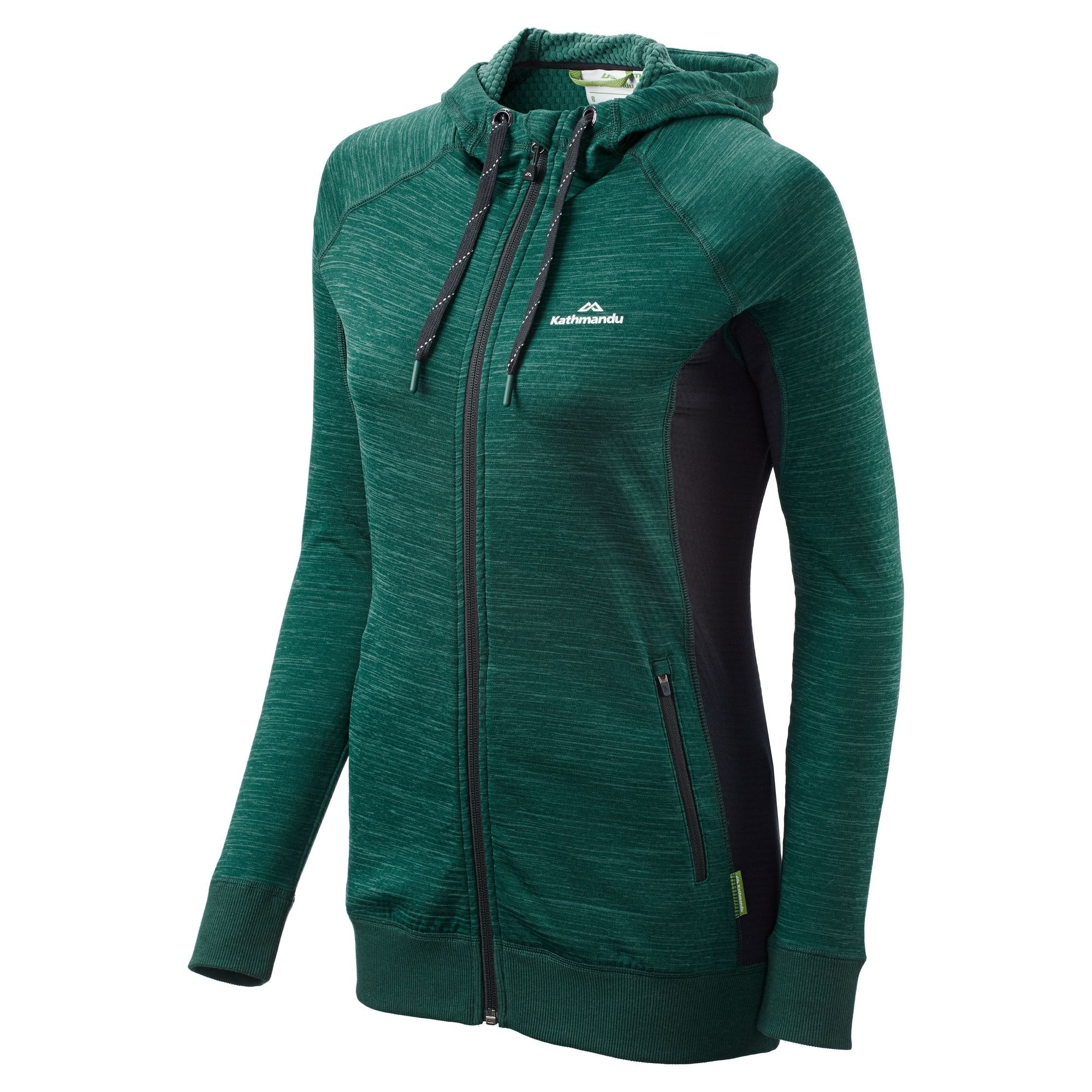 NEW-Kathmandu-Acota-Women-s-Hooded-Fleece-Lightweight-Breathable-Outdoor-Jacket thumbnail 8