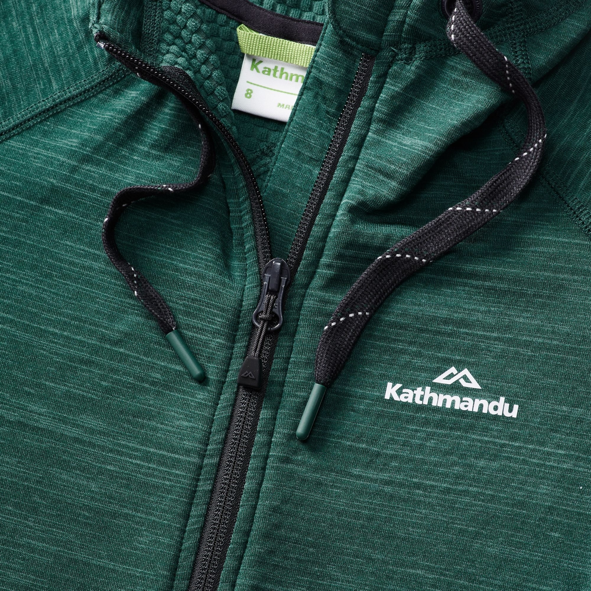 NEW-Kathmandu-Acota-Women-s-Hooded-Fleece-Lightweight-Breathable-Outdoor-Jacket thumbnail 9