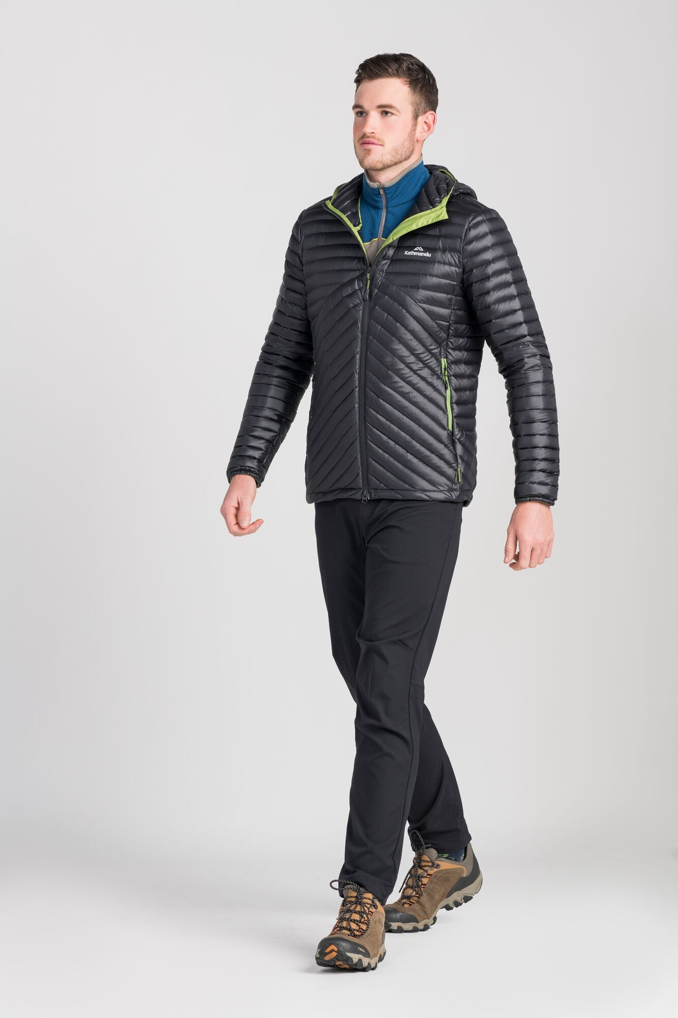 thumbnail 9 - NEW Kathmandu Flinders Lightweight Water-Repellent Warm Men's Down Puffer Jacket