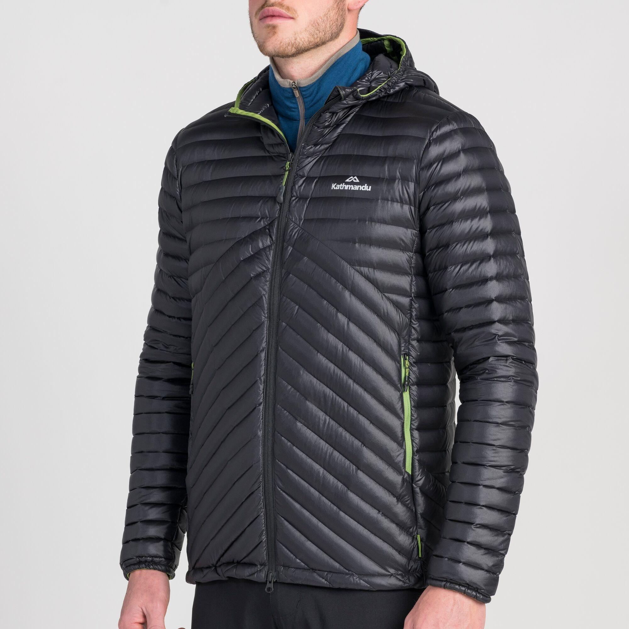thumbnail 10 - NEW Kathmandu Flinders Lightweight Water-Repellent Warm Men's Down Puffer Jacket